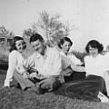 Jo, David, Floye and Marjorie