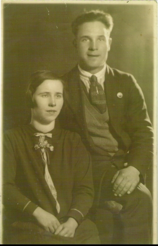 Fred Chappell and Lillian Sealey