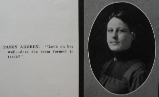 Pansy Yearbook Photo